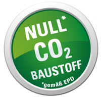 Null CO2 Baustoff